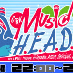 2014.9.16(Tues.) ラジオ関西「MUSIC H.E.A.D.S.」