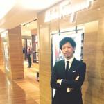 阪急百貨店メンズ館 レセプション