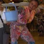 """【トラウマ】日本で最も奇妙な祭り""""新世界セルフ祭""""に行ってきた【絵の具舞踏】vol.2"""